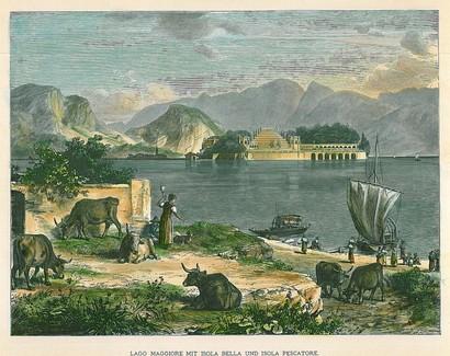 Isola Bella E Stresa (Lago Maggiore Mit Isola Bella Und Isola Pescatori